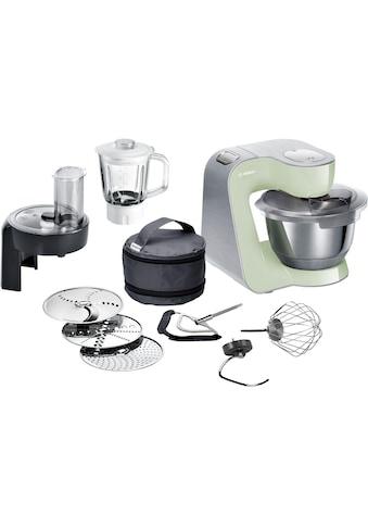 BOSCH Küchenmaschine »MUM5, 1000W, Edelstahl gebürstet«, 1000 W, 3,9 l Schüssel kaufen