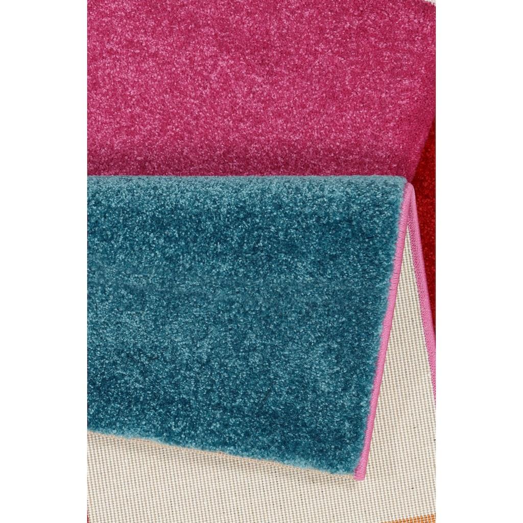 merinos Teppich »GENIL«, rechteckig, 13 mm Höhe, handgearbeiteter Konturenschnitt