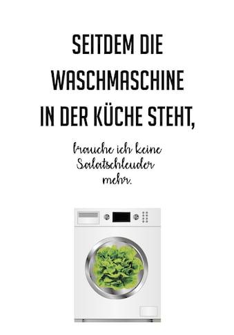queence Wanddekoobjekt »Salatschleuder« kaufen
