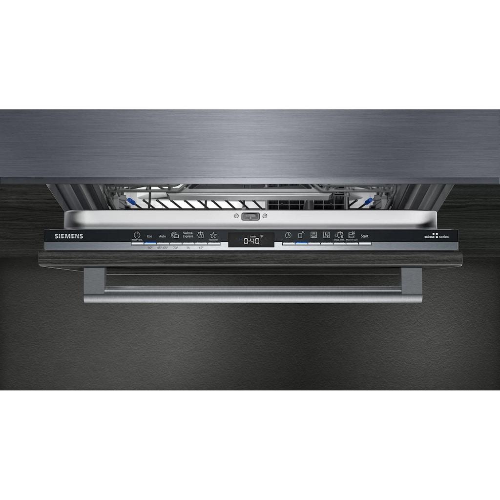 SIEMENS vollintegrierbarer Geschirrspüler »iQ300 SX63HX64AH Vollintegriert A++«, iQ300