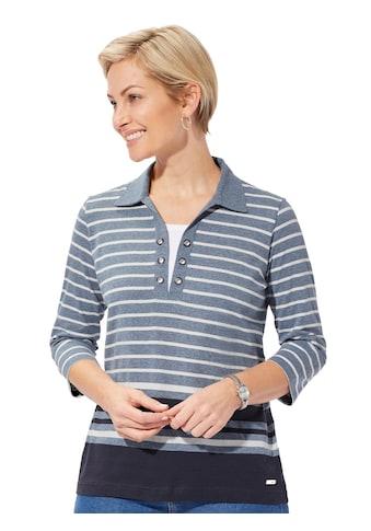 Casual Looks Poloshirt in der beliebten 2 - in - 1 - Optik kaufen