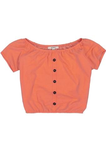 Garcia T-Shirt, mit grossem elastischem Ausschnitt kaufen