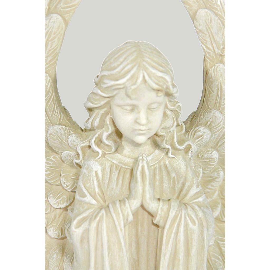 Casa Collection by Jänig Engelfigur »Engel mit grossen Flügeln, klein, kniend, betend, H 18 cm«
