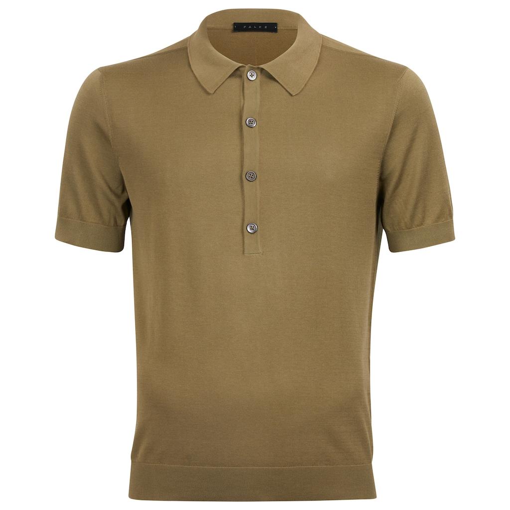 FALKE Trainingspullover »Polo-Shirt«, aus reiner italienischer Baumwolle