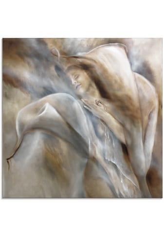 Artland Glasbild »Hingabe«, Frau, (1 St.) kaufen