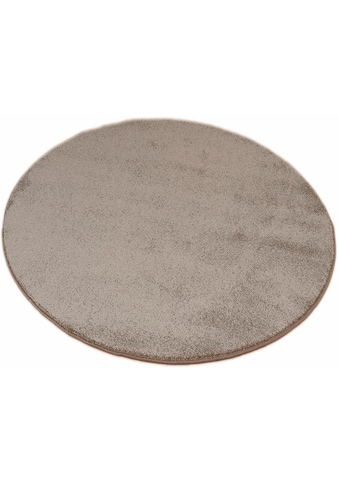 Living Line Teppich »Prestige«, rund, 16 mm Höhe, Velours, Wohnzimmer kaufen