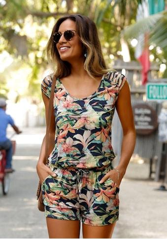 LASCANA Strandoverall, mit tollen Schulterdetails kaufen