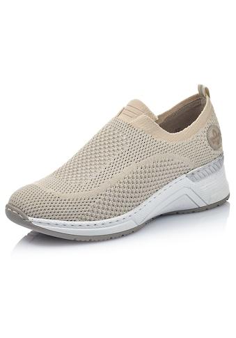 Rieker Slip-On Sneaker, mit sockenähnlichem Einstieg kaufen