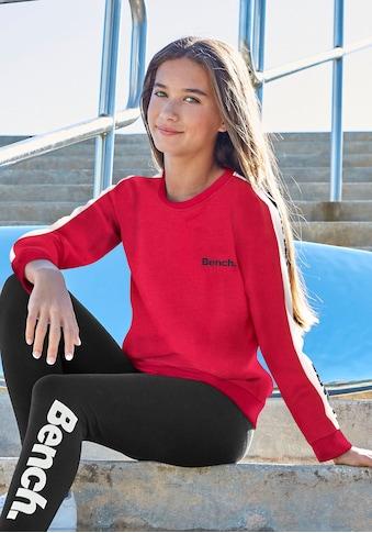 Bench. Sweatshirt, mit fortlaufendem Logoprint kaufen