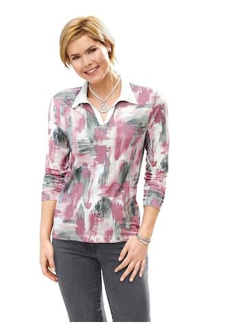 Casual Looks Shirt im hübschen Druck - Dessin kaufen