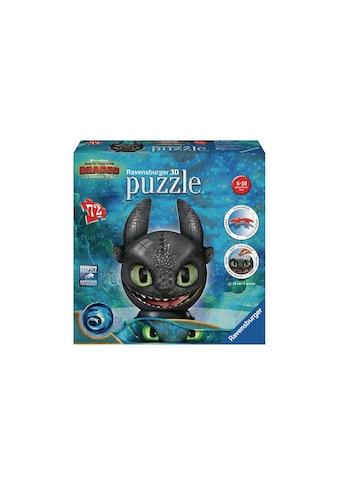 Ravensburger 3D-Puzzle »Dragons 3 Ohnezahn mit Ohren« kaufen
