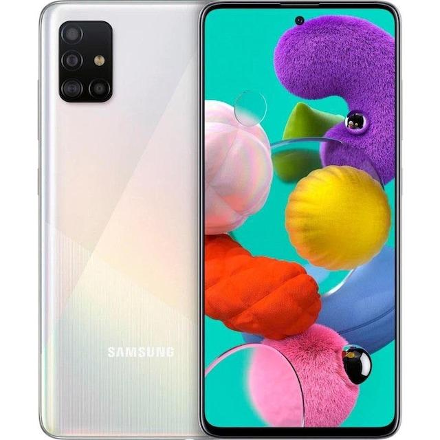 Smartphone (16,4 cm/6,5 Zoll, 128 GB Speicherplatz, 48 MP Kamera), Samsung, »Galaxy A51«