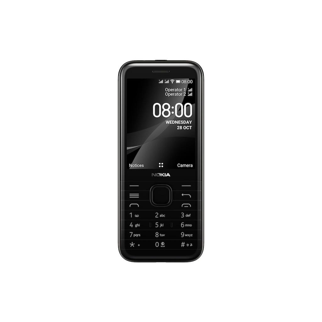 Nokia Smartphone »8000, 4G Schwarz«