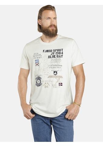 Jan Vanderstorm T-Shirt »VALTERI«, weiches Baumwollshirt kaufen