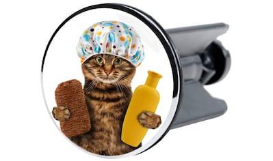Sanilo Waschbeckenstöpsel »Shower Cat«, Waschbeckenstöpsel kaufen