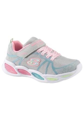 Skechers Kids Sneaker »Blinkschuh Shimmer Beams«, mit praktischem Klettverschluss kaufen