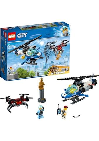 """LEGO® Konstruktionsspielsteine """"Polizei Drohnenjagd (60207), LEGO® City"""", Kunststoff, (192 - tlg.) kaufen"""
