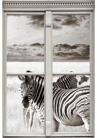 queence Wandsticker »Zebras« kaufen