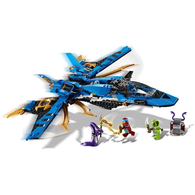 "LEGO® Konstruktionsspielsteine ""Jays Donner-Jet (70668), LEGO® NINJAGO®"", Kunststoff, (490-tlg.)"