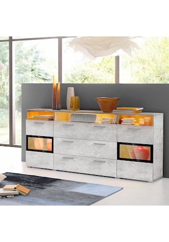TRENDMANUFAKTUR Sideboard »Sarahmix«, Breite 182 cm kaufen