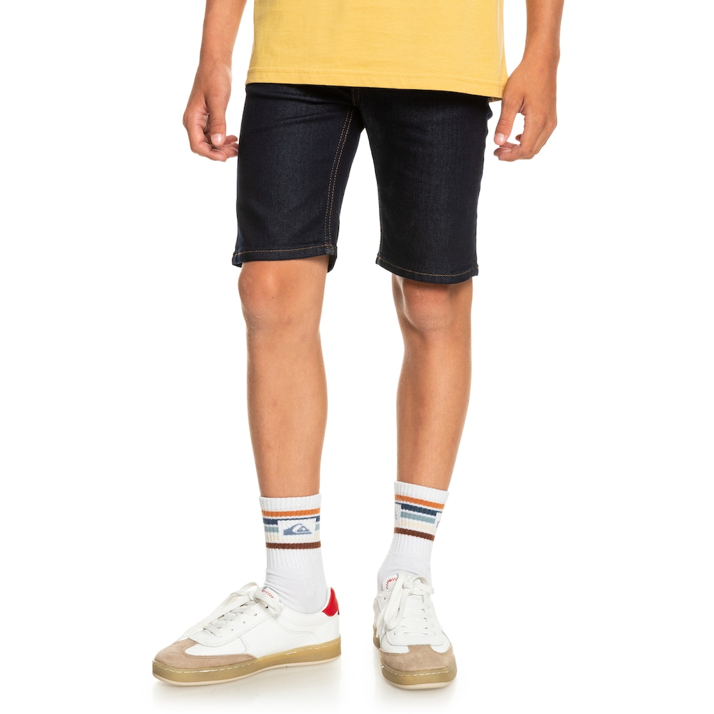 Quiksilver Jeansshorts »Modern Flave Rinse«