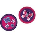 Herlitz Schulranzen »Grundschulrucksack SoftFlex Plus Butterfly«, Floureszierende Flächen-reflektierende Streifen auf den Schultergurten