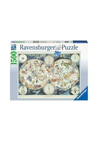 PT05 Puzzle »Weltkarte mit fantastischen Tierwesen« kaufen