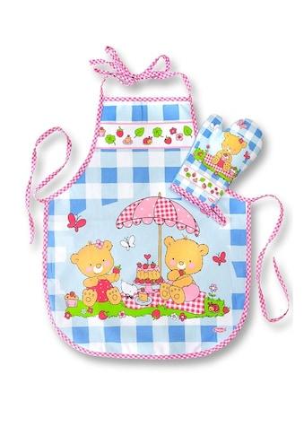 Heless Puppenkleidung »Kinderschürze mit Topfhandschuh«, (Set, 2 tlg.) kaufen