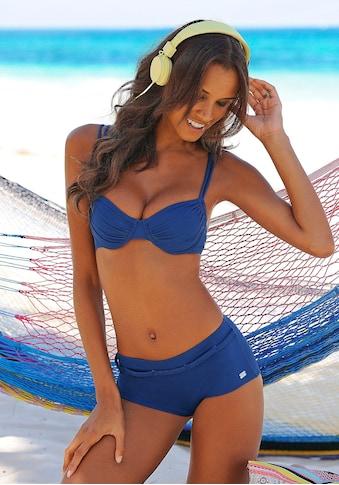 Buffalo Bikini-Hotpants »Happy«, mit geflochtenem Ziergürtel kaufen
