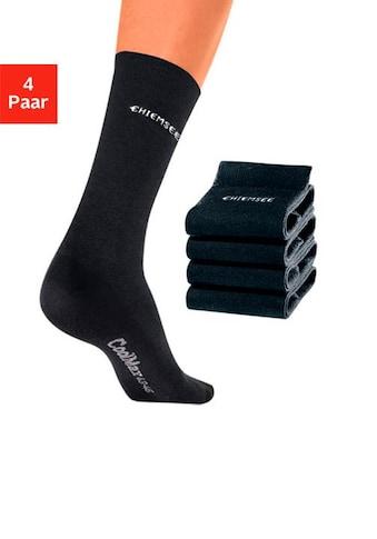 Chiemsee Socken, (4 Paar), mit COOLMAX kaufen