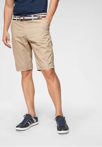 COMMANDER Shorts (Set, 2 tlg., mit Gürtel) kaufen