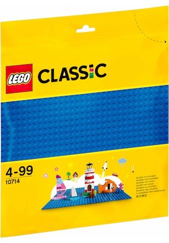 """LEGO® Konstruktionsspielsteine """"Blaue Bauplatte (10714), LEGO® Classic"""", (1 - tlg.) kaufen"""