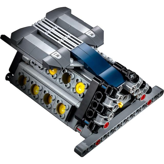 """LEGO® Konstruktionsspielsteine """"Bugatti Chiron (42083), LEGO® Technic"""", Kunststoff, (3599-tlg.)"""