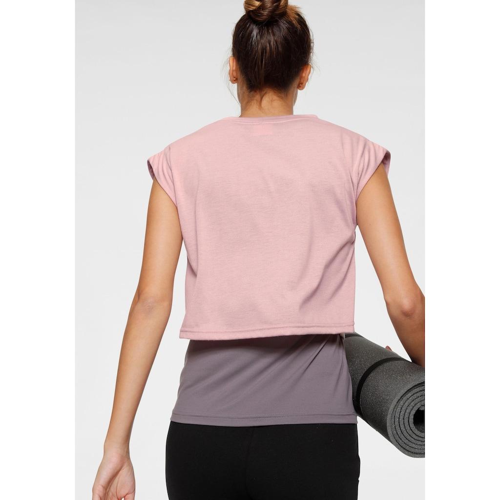 Ocean Sportswear T-Shirt »Yoga Shirt« (Set, mit Top)