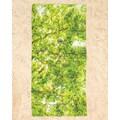 Juniqe Strandtuch »Hazel Tree«, (1 St.), Weiche Frottee-Veloursqualität