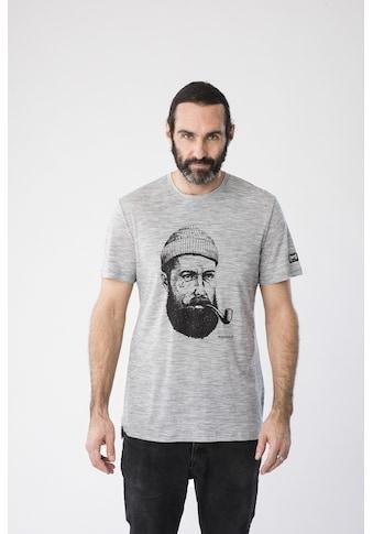 SUPER.NATURAL T-Shirt »M GRAPHIC TEE«, pflegeleichter Merino-Materialmix kaufen