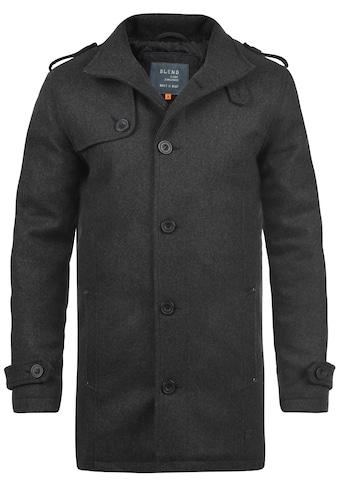 Blend Wollmantel »Warren«, Mantel mit Knopfleiste kaufen