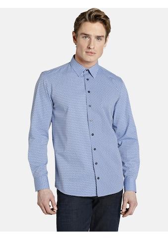 SHIRTMASTER Langarmhemd »patterns«, mit drei verschiedenen Dessins kaufen