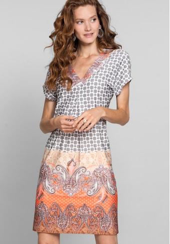 bianca Druckkleid »MARILL«, im stylischen Mustermix mit V-Ausschnitt kaufen
