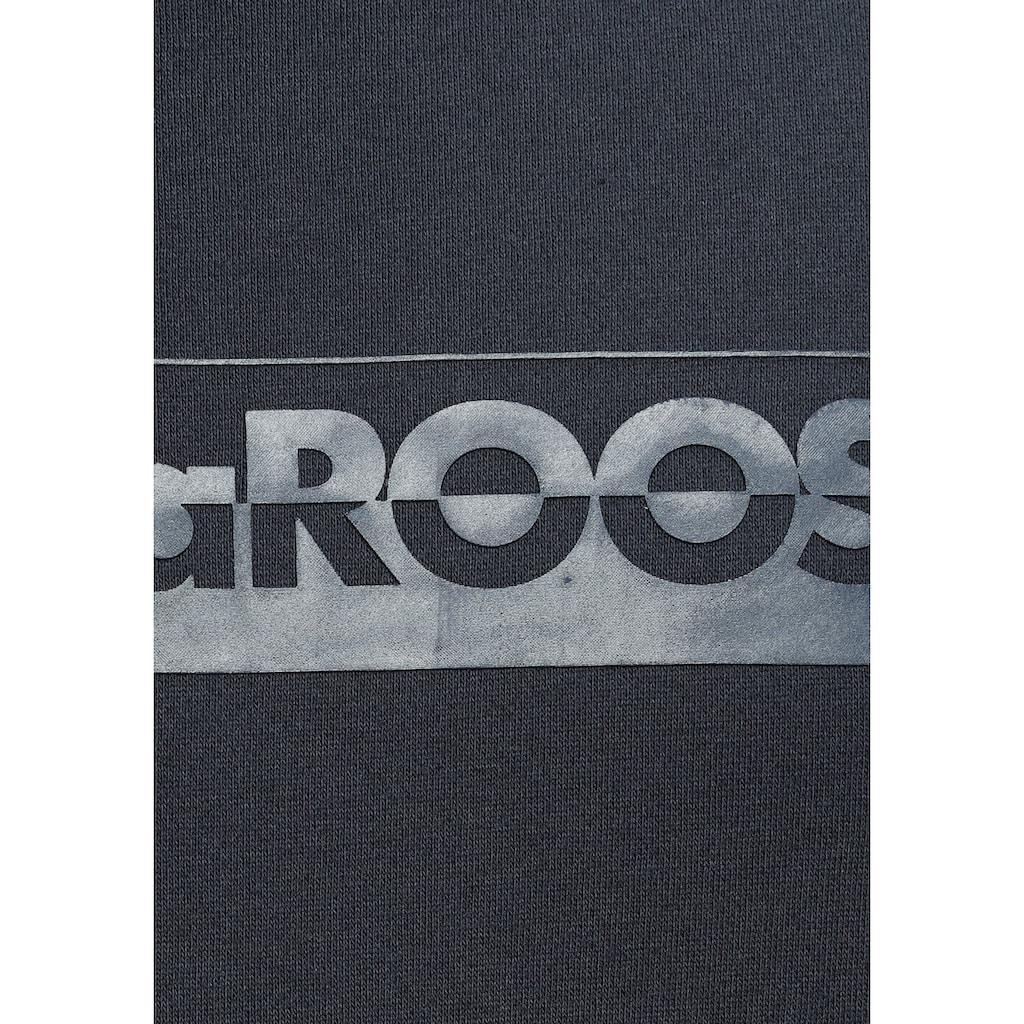 KangaROOS Sweatshirt, mit grossem Logofrontprint