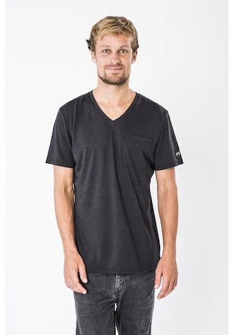 SUPER.NATURAL T-Shirt »M CITY V-NECK«, angenehmer Merino-Materialmix kaufen