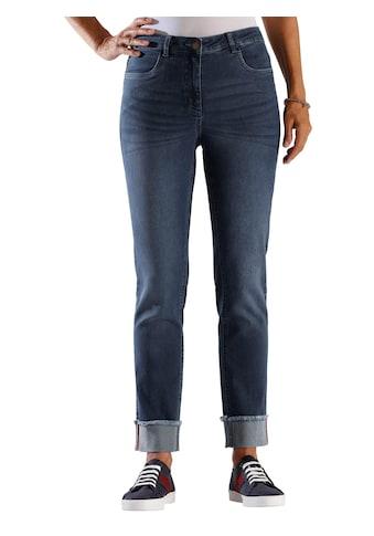 Classic Basics Jeans mit fixiertem Aufschlag kaufen