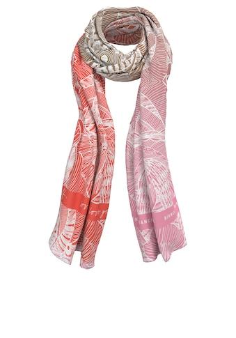 bianca Modetuch »MUSI«, im zarten floralem Print mit frischem Farbverlauf kaufen