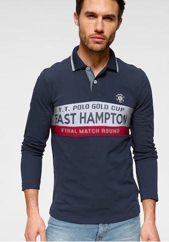 TOM TAILOR Polo Team Langarm - Poloshirt kaufen