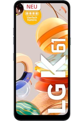 """LG Smartphone »K61«, (16,5 cm/6,53 """", 128 GB Speicherplatz, 48 MP Kamera) kaufen"""