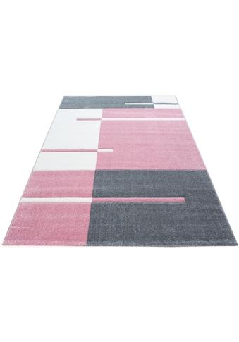 Ayyildiz Teppich »Hawaii 1310«, rechteckig, 13 mm Höhe, handgearbeiteter Konturenschnitt, Wohnzimmer kaufen