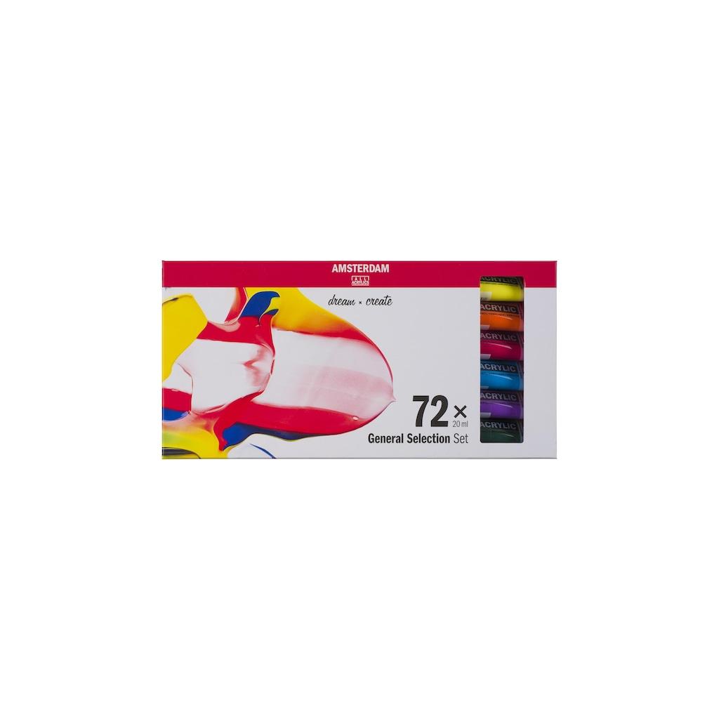 AMSTERDAM Acrylfarbe »Standard Serie Set 72 x 20 ml«