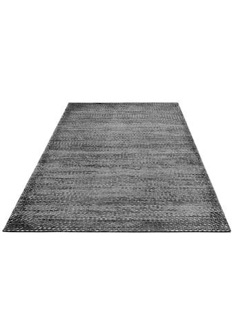 DELAVITA Teppich »Ryker«, rechteckig, 12 mm Höhe, Hoch-Tief-Struktur, Wohnzimmer kaufen