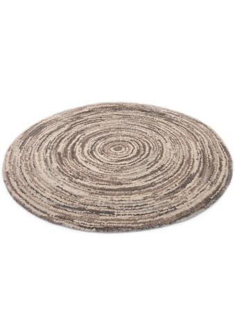 OCI DIE TEPPICHMARKE Teppich »Lexa Round«, rund, 20 mm Höhe, besonders weich durch Mircofaser, Wohnzimmer kaufen