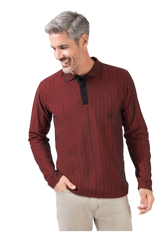 Marco Donati Langarm - Poloshirt in schöner Pikee - Qualität kaufen
